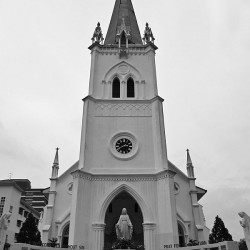 Church of the Nativity, Singapore. The church is celebrating it's 160th anniversary this year. In contrast, the island nation is celebrating its 45th year in existence.